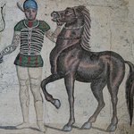 Mosaic in the Basilica San Clemente
