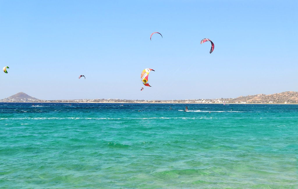 The area is also popular with kitesurfers