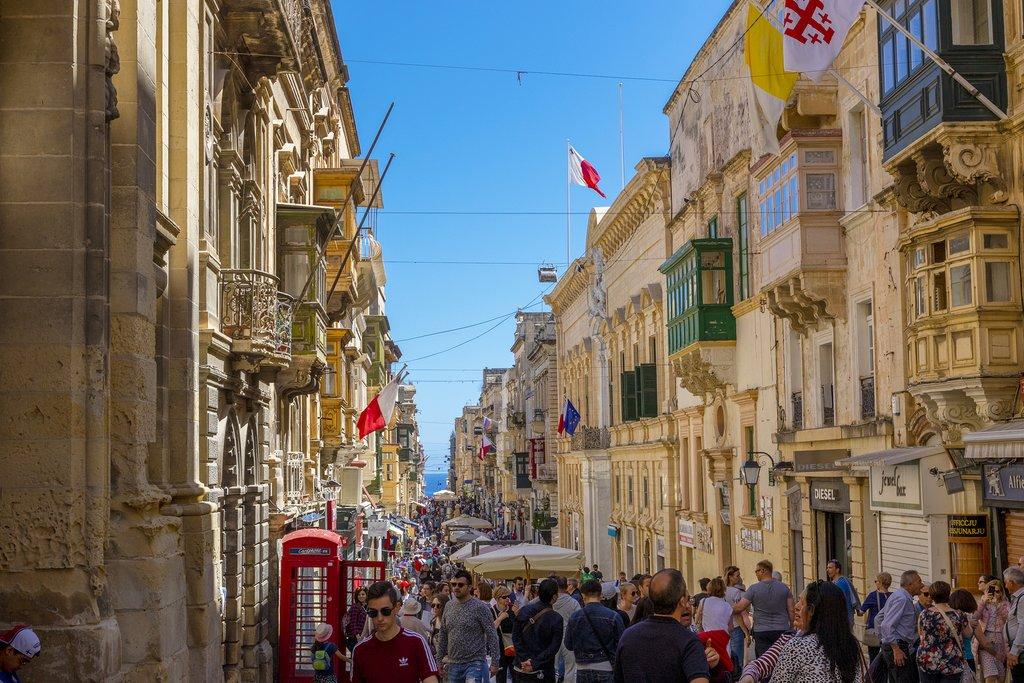 Narrow Streets of Valletta