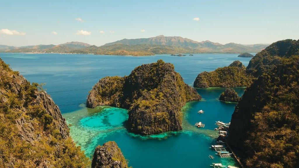 Kayangan Lake and Coron islands