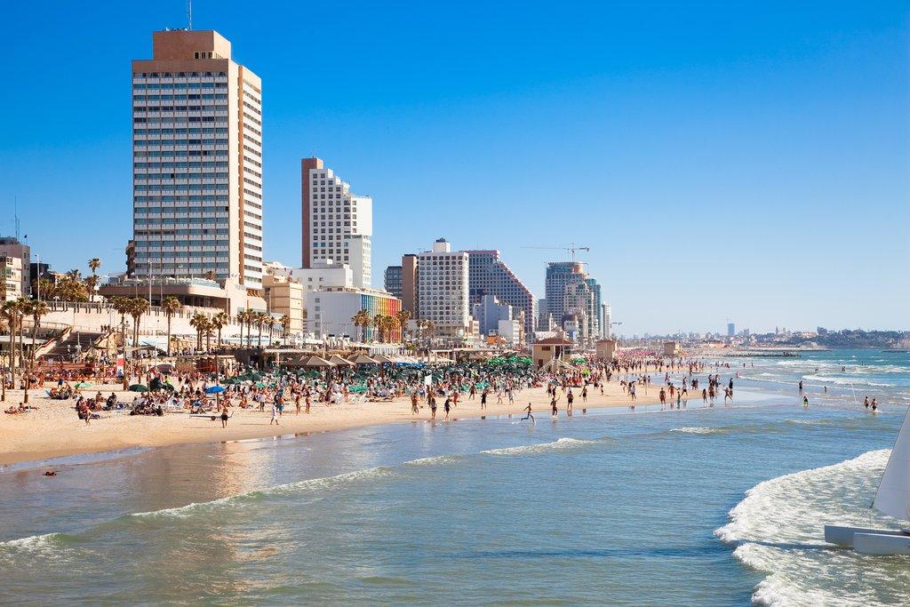 Israel - Tel Aviv - Public Beach
