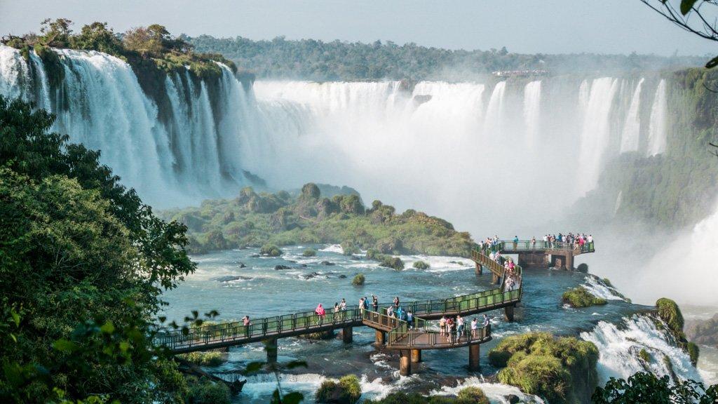 Brazilian side Falls