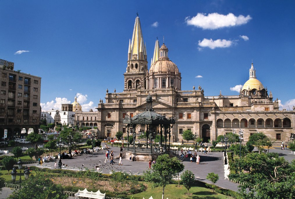 Guadalajara's historical center