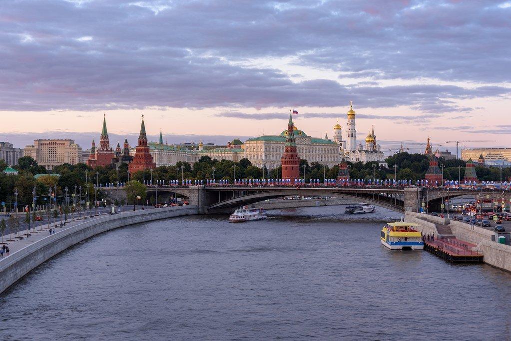 Moskva river view