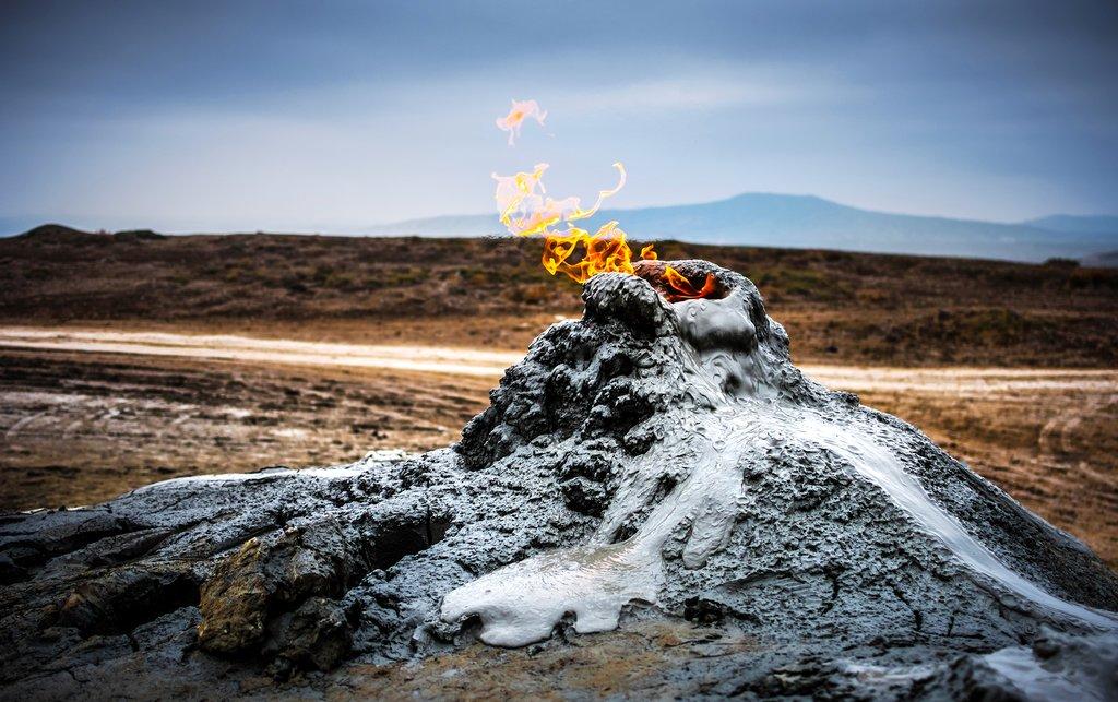 Mud Volcanoes of Gobustan