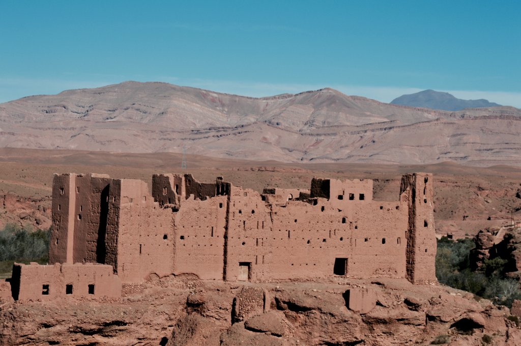 Boumalne Dades in the High Atlas Mountains
