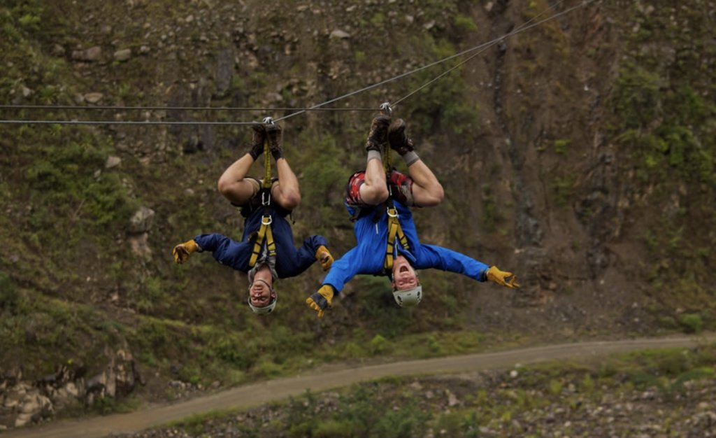 A fun zip lining adventure