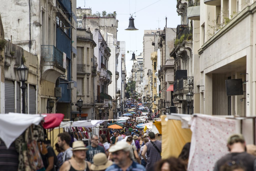 Don't miss San Telmo, the oldest neighborhood in Buenos Aires