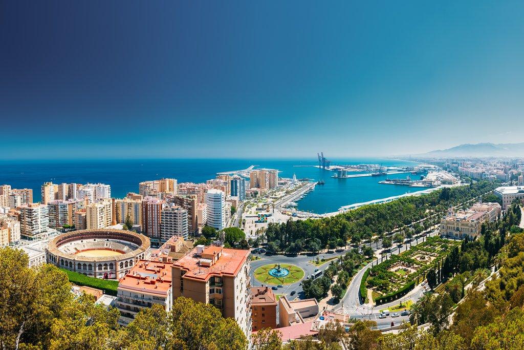 The City of Málaga