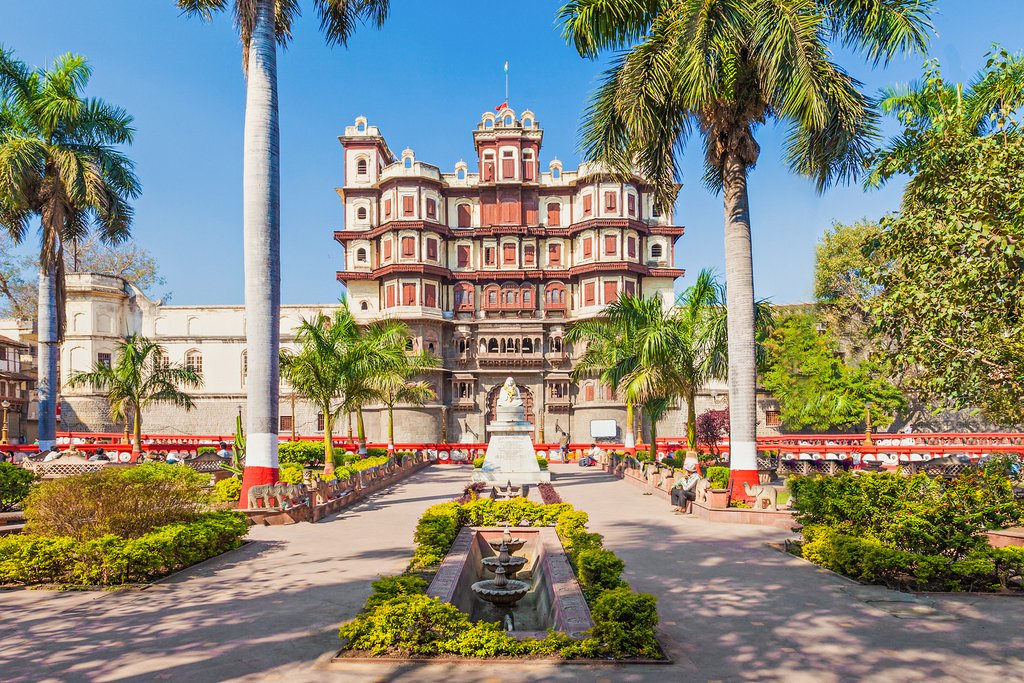 Rajwada is a historical palace in Indore city