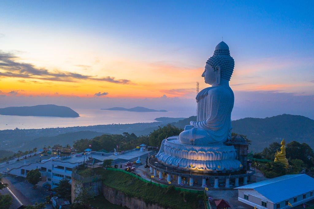 Big Buddha overlooking Phuket