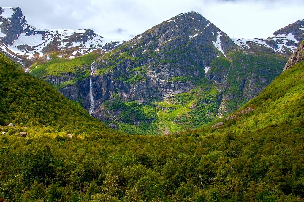 Briksdal glacier, Jostedalsbreen National Park