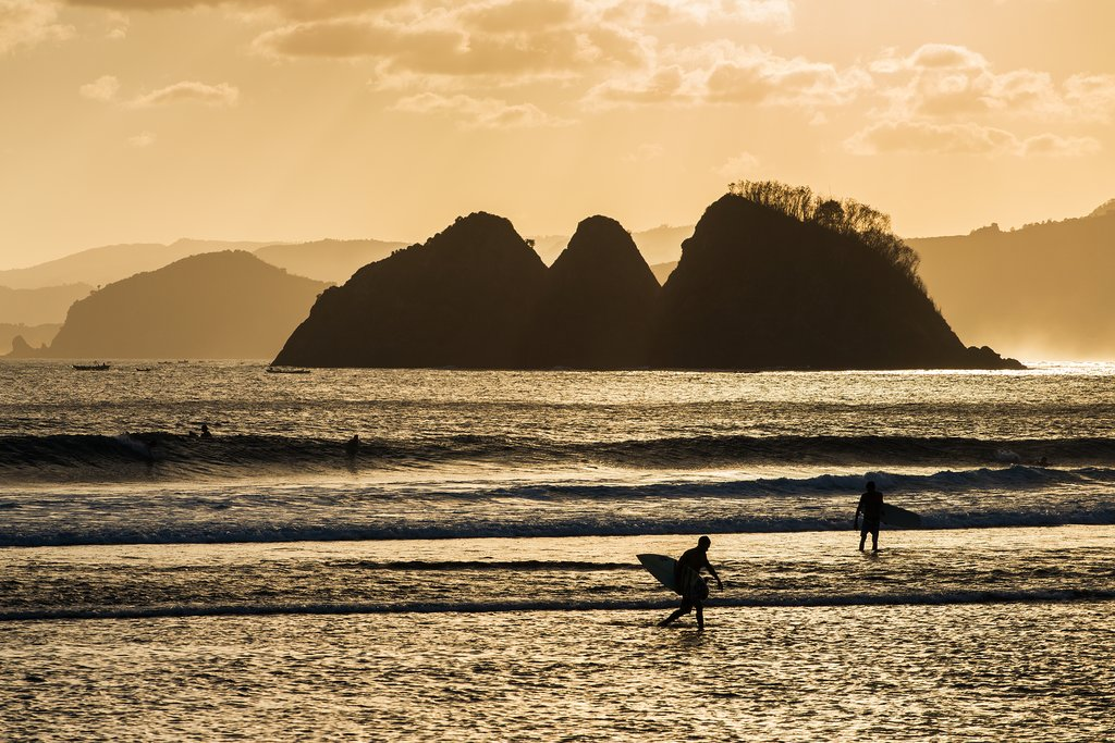 Return to the surfing paradise of Kuta in Lombok