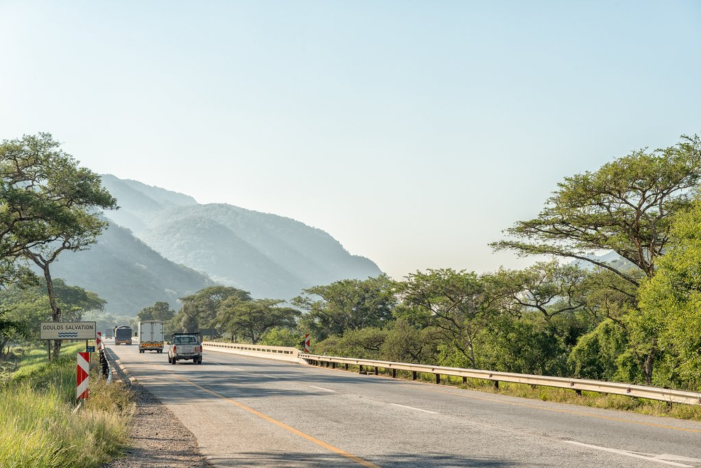 Road near Nelspruit