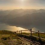 Lake Garda from Monte Baldo