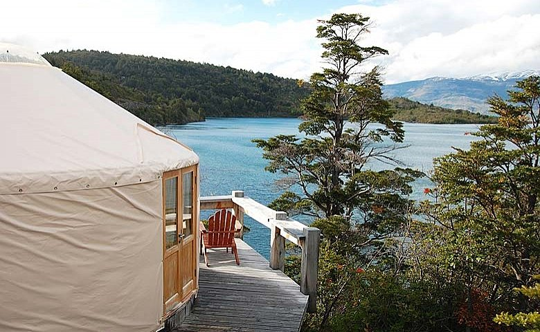 Stay two nights in a private yurt with a view