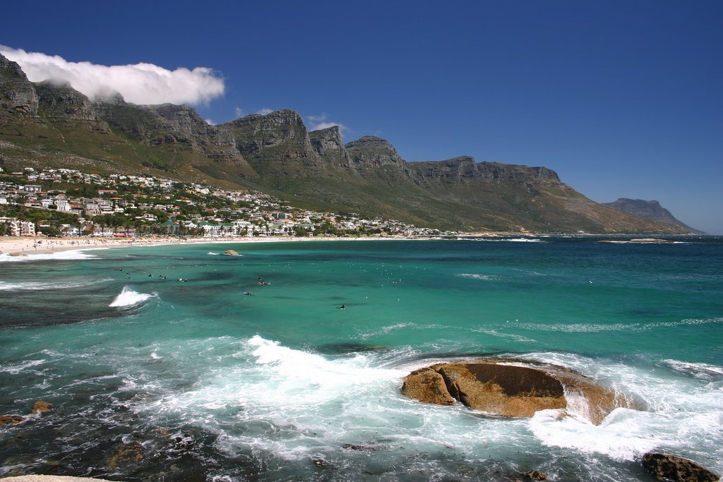 Camps Bay and the Twelve Apostles in Cape Town