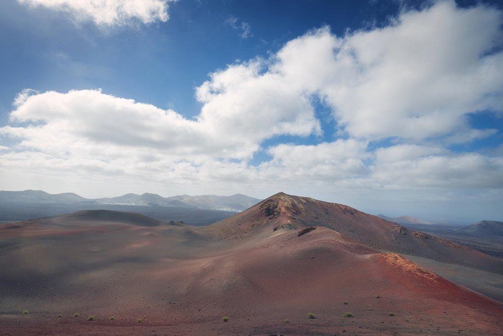 The volcanic Timanfaya landscape