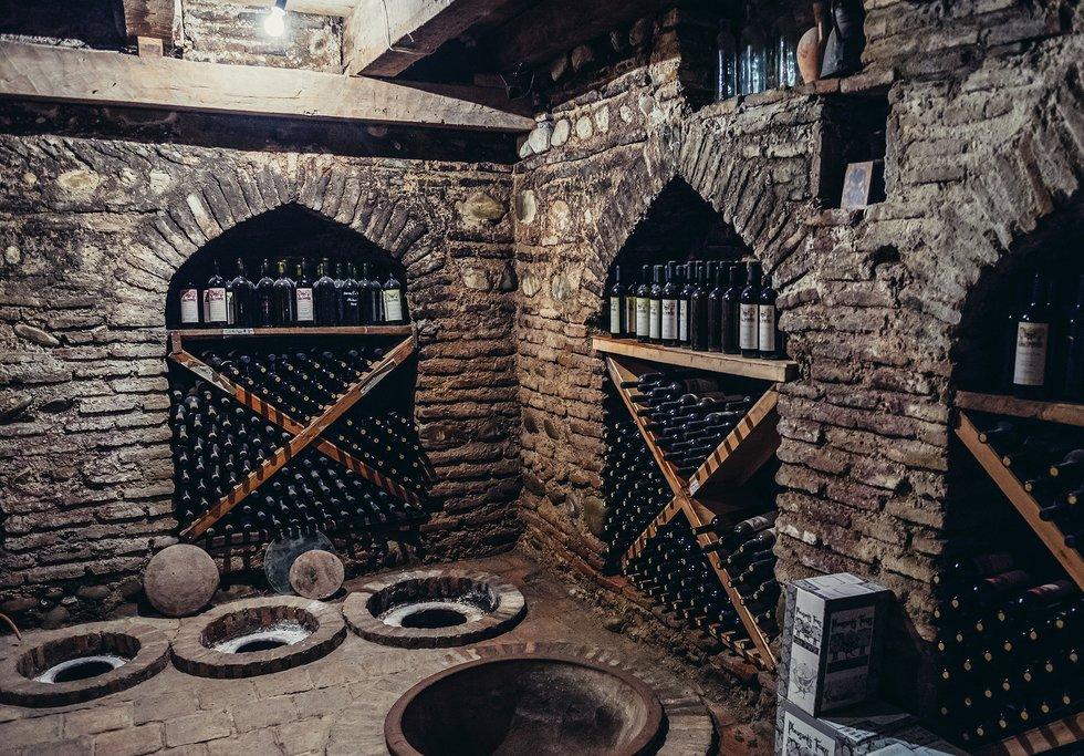 Wine Cellar in Kakheti Region, Georgia