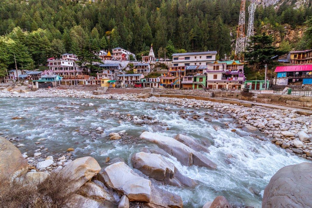 Gangotri town