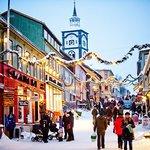 Røros winter street