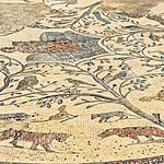 Roman mosaics still intact in Volubilis