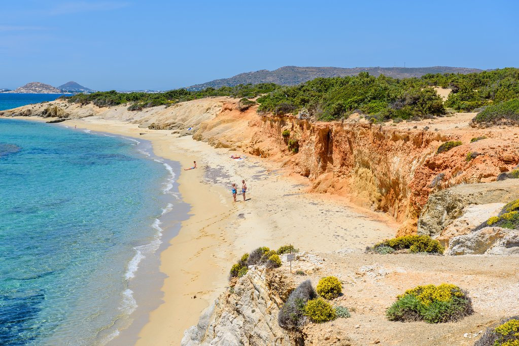 Aliko Beach on Naxos