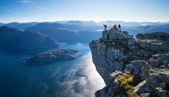 Climb the famous trails of Norway
