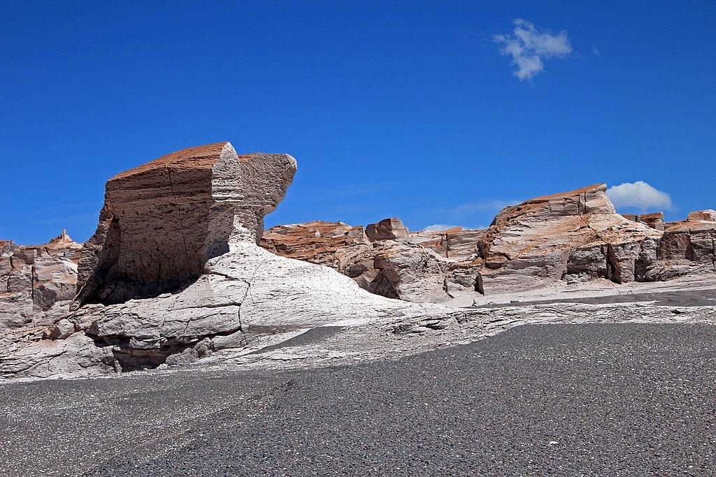 Pumice stones at Piedra Pomez