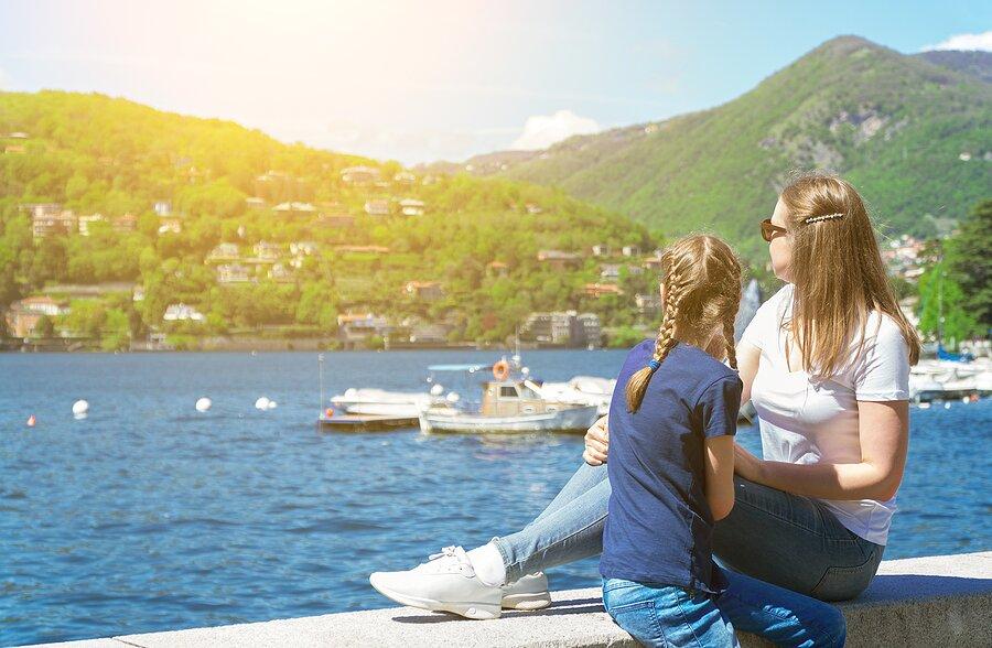 Enjoy views of Lake Como