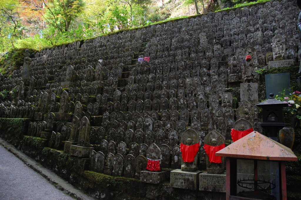 Buddha Wall at Daiho-Ji, Temple 44, Photo Courtesy of Simon Desmarais, CC BY-SA 2.0