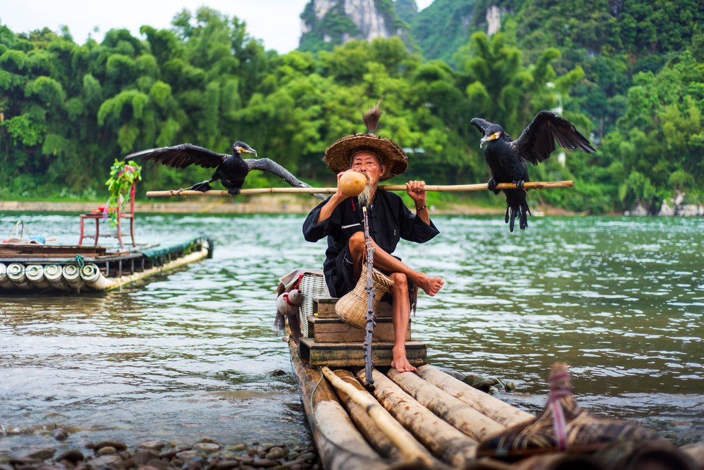 Travel with a local fisherman down the Yulong River