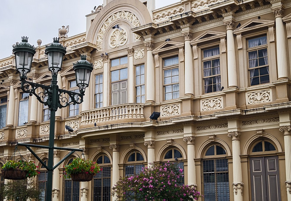 The Edificio Correos (Post Office) in San Jose