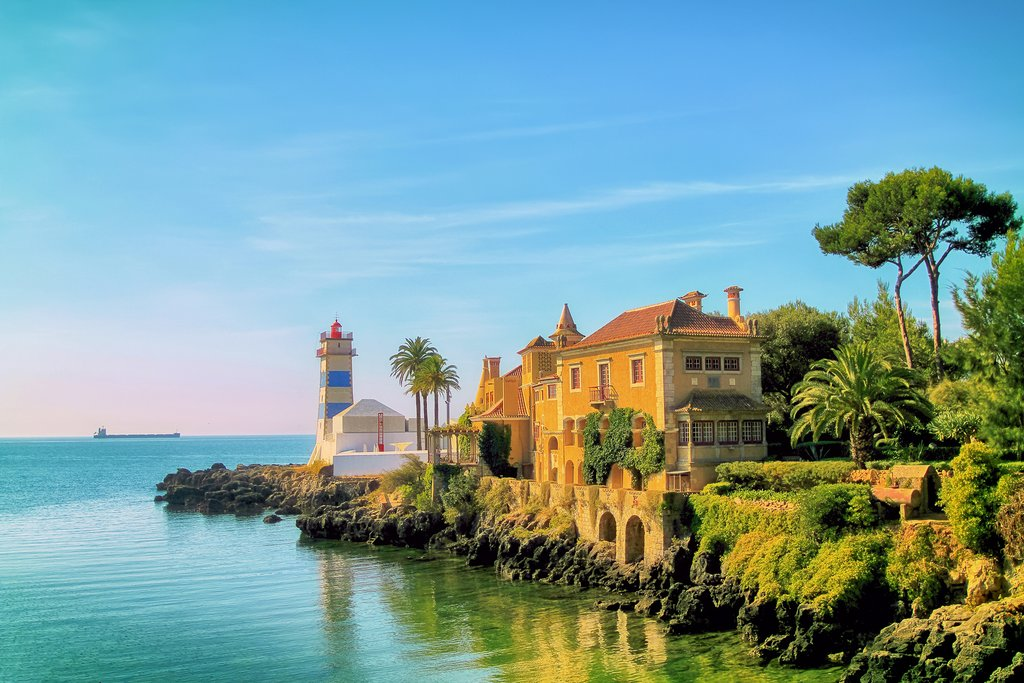 Santa Maria Lighthouse in Cascais