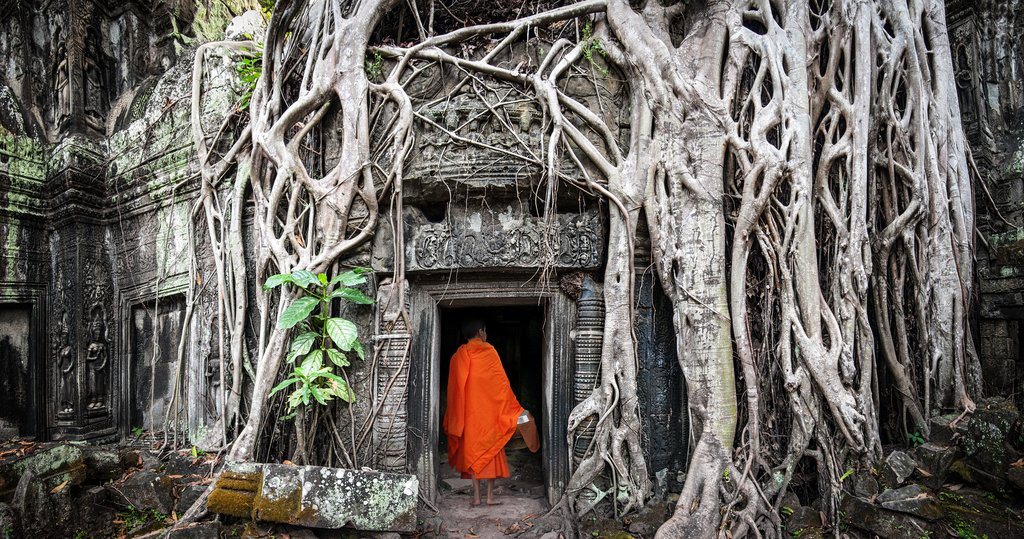 Angkor Wat is arguably the most famous temple in Cambodia