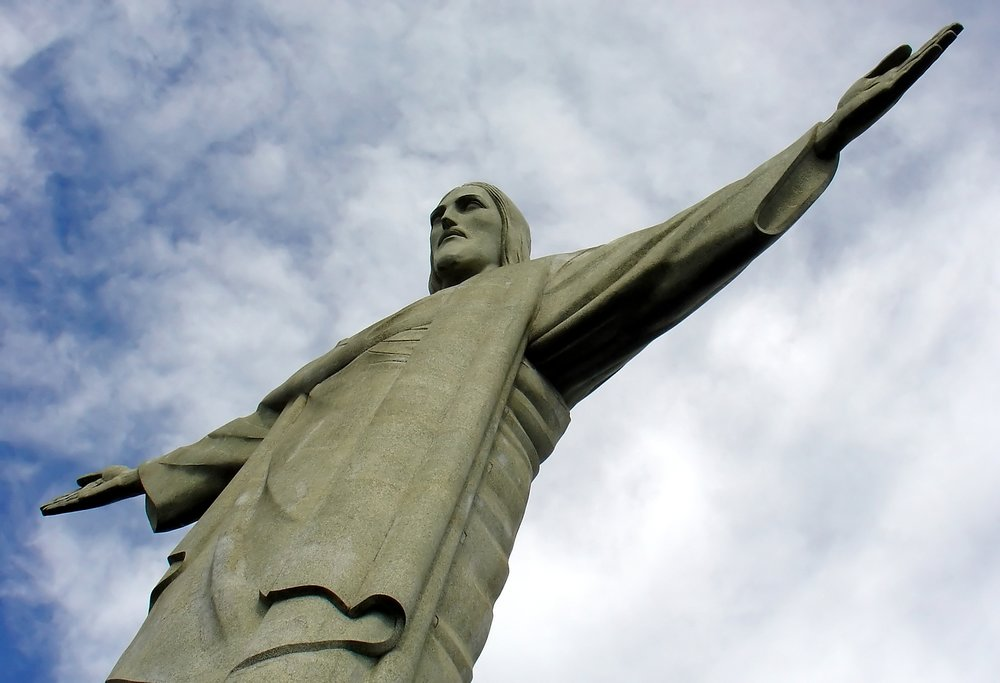The iconic Christ the Redeemer, one of the New Seven Wonders of the World