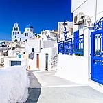 Scenic streets of Pyrgos