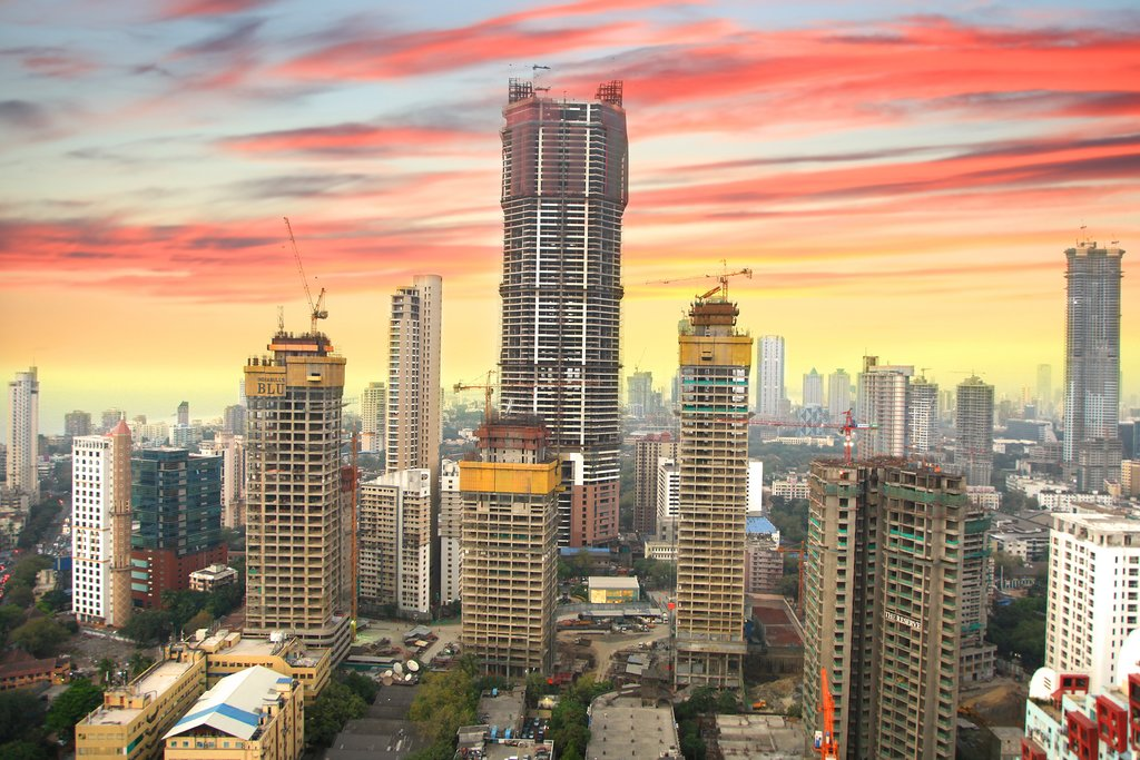 Mumbai is the the financial, commercial, and entertainment capital of India