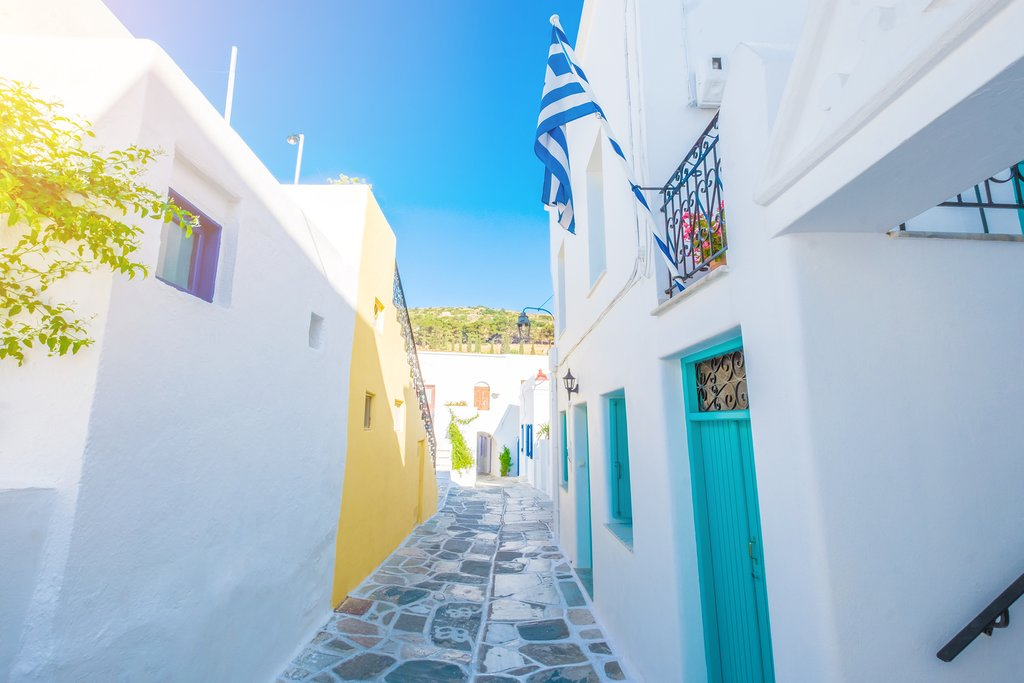 Streets of Lefkes