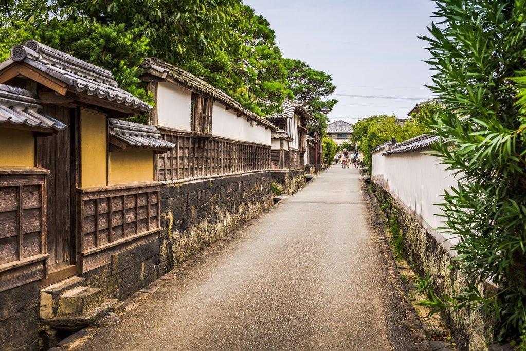 Street in Hagi, Japan