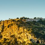 Hillside Views of the Castle in Pylos