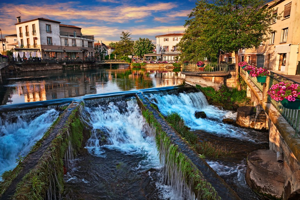 Dawn at L'Isle-sur-la-Sorgue