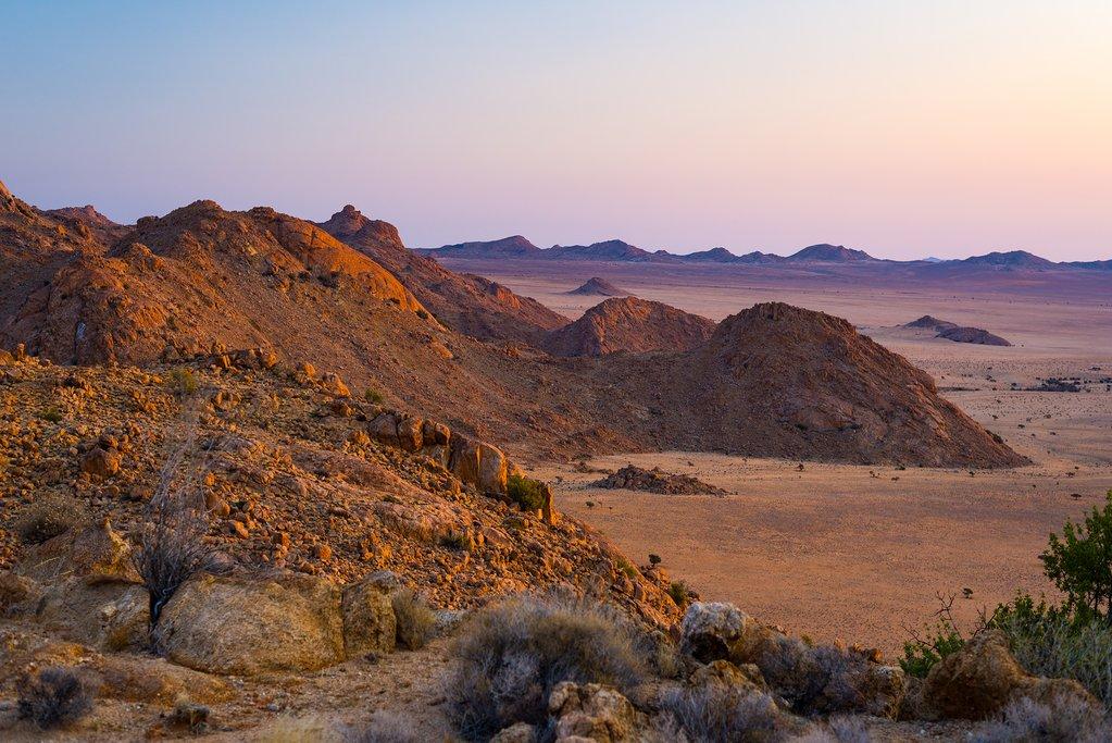 Spend the morning in Kalahari before returning to Windhoek