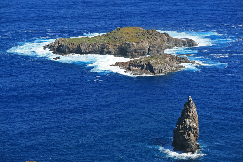View of Motu Nui from Orongo