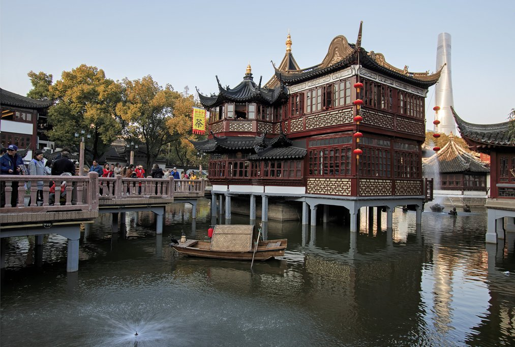 City Temple of Shanghai in the Old Town