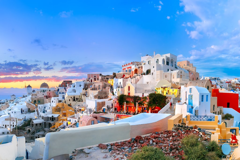 Incredible Views of Oia.