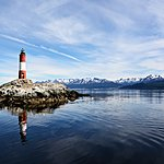 Les Eclaireurs Lighthouse in the Beagle Channel
