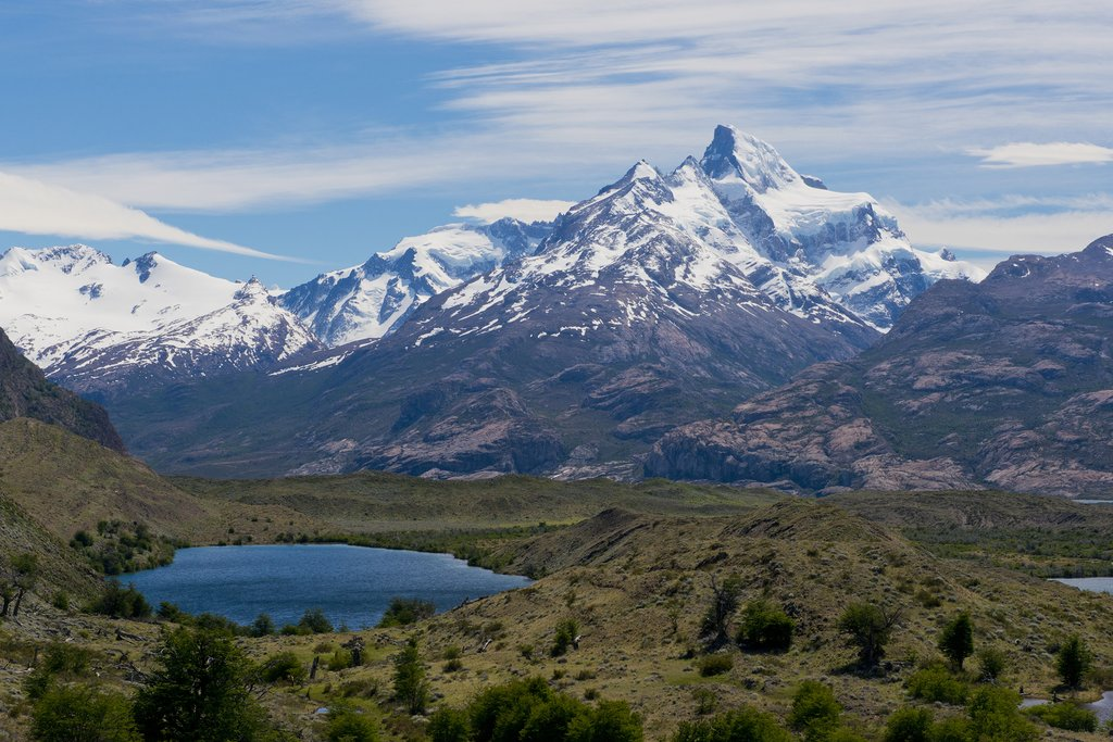 View from Estancia Cristina