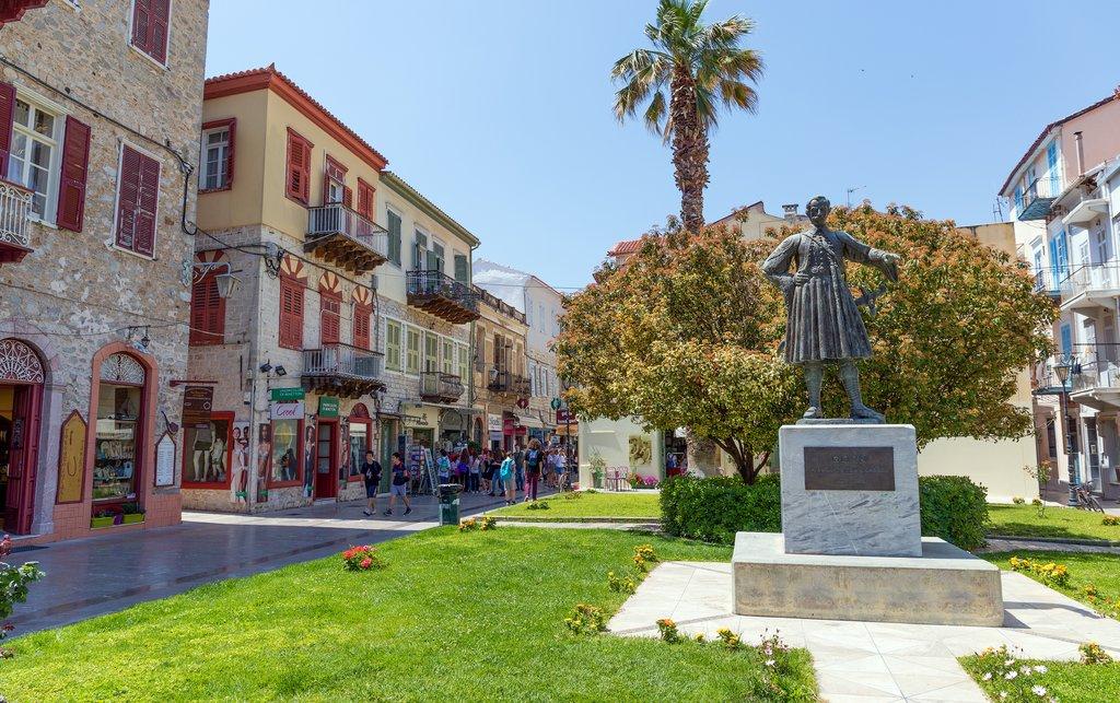 Nafplio's main square