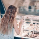 Perusing the gelato options